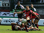 Toulon's Pierre Mignoni in action during the French Top 14 Rugby Match, Montauban vs Toulon on Sunday to cap a memorable week for the south-western club at the Sapiac stadium in Montauban, France on September 6, 2009