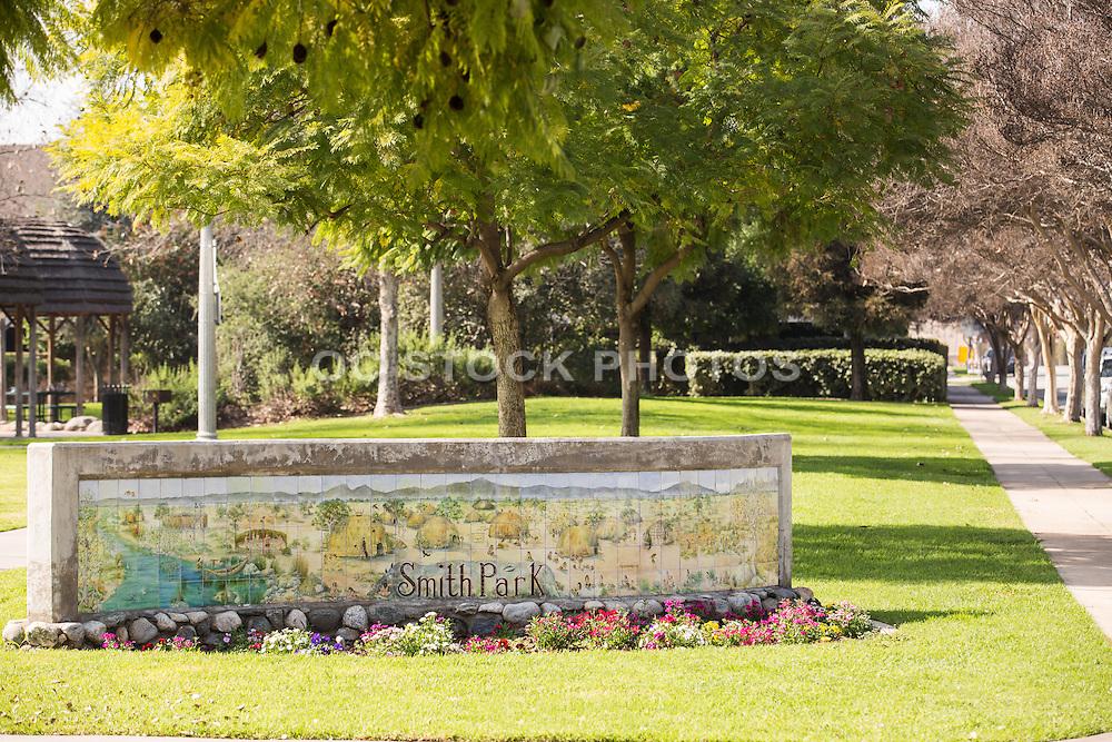 Smith Park on Broadway in San Gabriel California