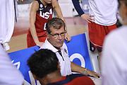 DESCRIZIONE : Roma Amichevole Nazionale Femminile Italia USA<br /> GIOCATORE : Geno Auriemma<br /> CATEGORIA : allenatore coach time out<br /> SQUADRA : USA<br /> EVENTO : Amichevole Nazionale Italiana Femminile<br /> GARA : Italia USA<br /> DATA : 08/10/2015<br /> SPORT : Pallacanestro <br /> AUTORE : Agenzia Ciamillo-Castoria/G.Masi<br /> Galleria : Nazionale<br /> Fotonotizia : Roma Nazionale Femminile Amichevole Italia USA