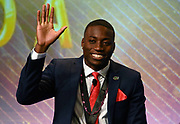 Dec 20, 2018; San Antonio, TX, USA; Men's finalist Grant Holloway of Florida at the 10th Bowerman Awards at the JW Marriott San Antonio Hill Country Resort & Spa.