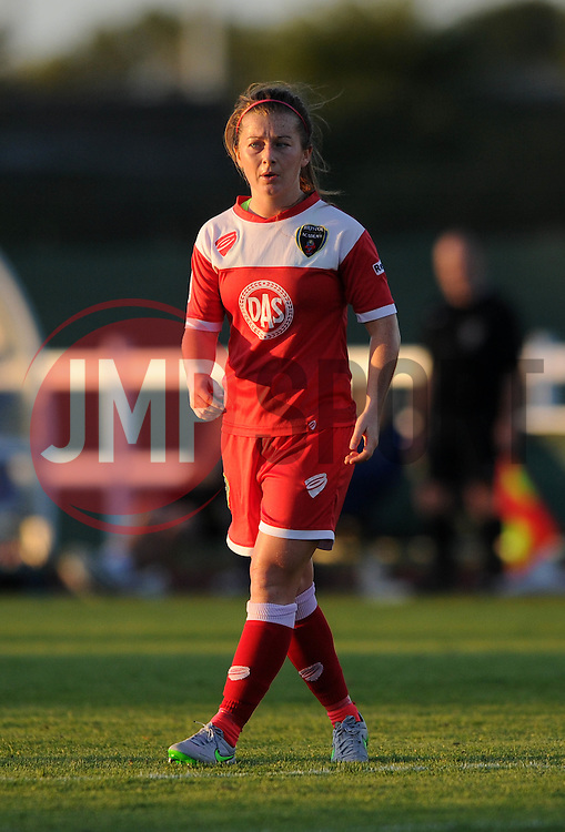 Christie Murray of Bristol Academy - Mandatory byline: Dougie Allward/JMP - 07966386802 - 27/08/2015 - FOOTBALL - Stoke Gifford Stadium -Bristol,England - Bristol Academy Women FC v Oxford United Women - FA WSL Continental Tyres Cup