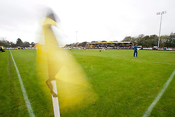 Galabank, home of Annan Athletic Football Club..Annan Athletic 0 v 3 Falkirk. Semi Final of the Ramsdens Cup, 9/10/2011..Pic © Michael Schofield.