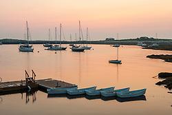 Dawn on Star Island, Rye, New Hampshire. Isles of Shoals.