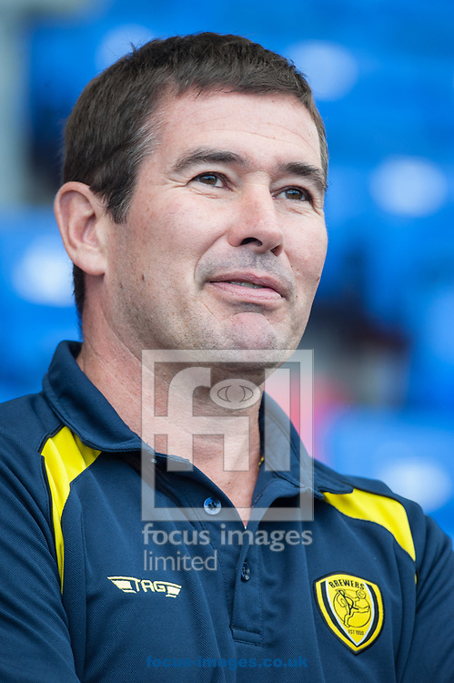 Burton Albion manager Nigel Clough prior to the Carabao Cup match between Burton Albion and Oldham Athletic at Boundary Park, Oldham<br /> Picture by Matt Wilkinson/Focus Images Ltd 07814 960751<br /> 09/08/2017