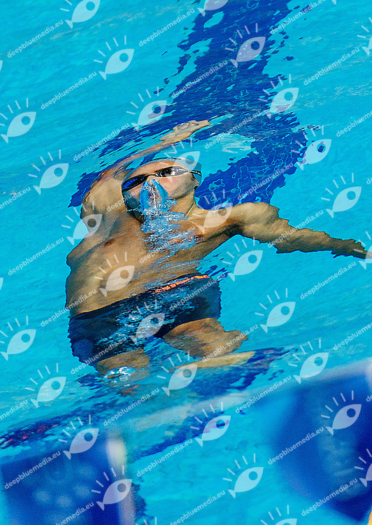 BONACCHI Niccolo Italy ITA<br /> 50 backstroke men<br /> 27th Summer Universiade <br /> 5 - 17 July 2013 Kazan Tatarstan Russia<br /> Day 08 Swimming heats<br /> Photo G. Scala/Insidefoto/Deepbluemedia.eu
