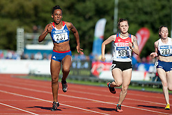 FRANCOIS-ELIE Mandy, SAPOZHNIKOVA Anna, MCLOUGHLIN Jenny, 2014 IPC European Athletics Championships, Swansea, Wales, United Kingdom