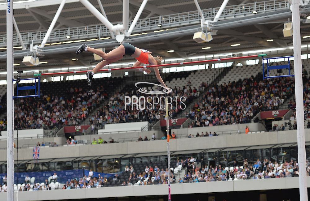 Anzhelika Siorovaduring the Sainsbury's Anniversary Games at the Queen Elizabeth II Olympic Park, London, United Kingdom on 25 July 2015. Photo by Mark Davies.
