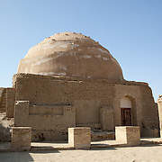 Mashat-Ata mosque, part of the broader Dekhistan archaeological area in western Turkmenistan
