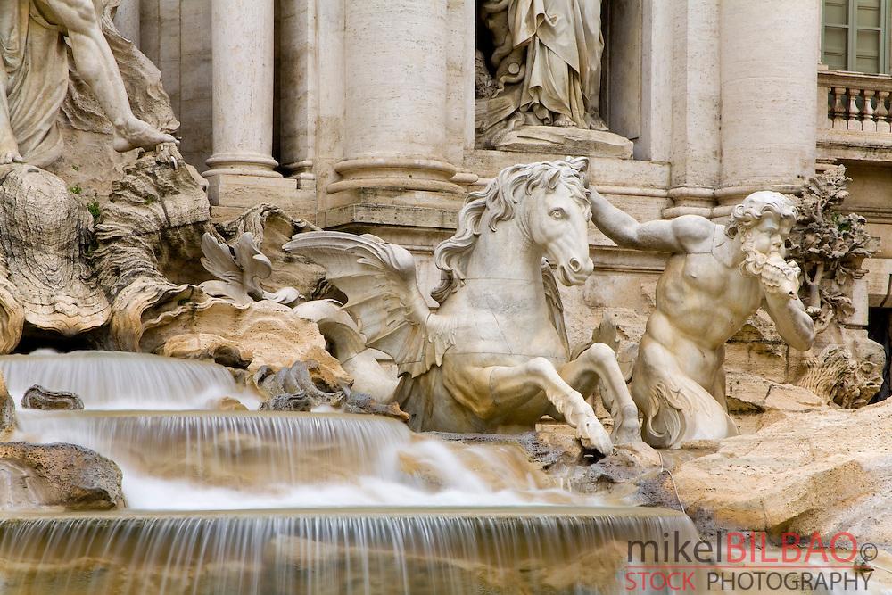 Trevi Fountain , Rome, Italy