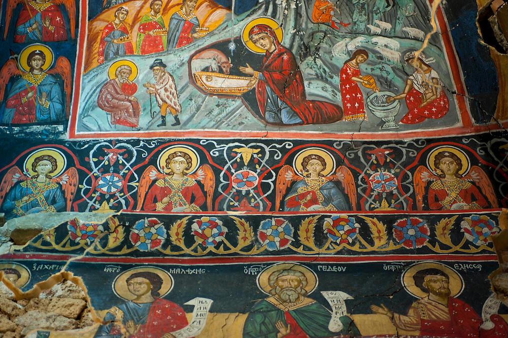 Antike orthodoxe Kirchen von Voskopoja,Albanien, Balkan*Antique orthodox churches of Voskopoja, Albania, Balkans