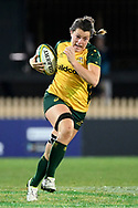 SYDNEY, AUSTRALIA - JULY 19: Grace Hamilton (8) of the Wallaroos runs the ball during the second rugby test match between the Australian Wallaroos and Japan on July 19, 2019 at North Sydney Oval in Sydney, Australia. (Photo by Speed Media/Icon Sportswire)