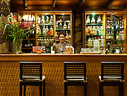 Cocktail bar at Matangi Private Island Resort, Fiji.
