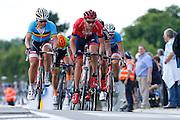 BELGIUM  / INGOOIGEM / CYCLING / WIELRENNEN / CYCLISME / 69TH HALLE - INGOOIGEM / NAPOLEON GAMES CYCLING CUP - GP MOLECULE / 200,5 KM / (L-R) DEVOLDER STIJN (TREK-SEGAFREDO) / CLARKE WILLIAM (DRAPAC PROFESSIONAL CYCLING)