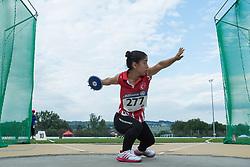 04/08/2017; Cirit, Rabia, F41, TUR at 2017 World Para Athletics Junior Championships, Nottwil, Switzerland
