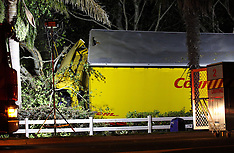 Tauranga-Courier Post truck and trailer off road, Bethleheim