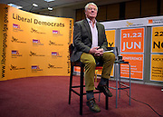 © Licensed to London News Pictures. 10/03/2013. Brighton, UK.  Paddy Ashdown at the Liberal Democrat Spring Conference in Brighton today 10th March 2013. Photo credit : Stephen Simpson/LNP