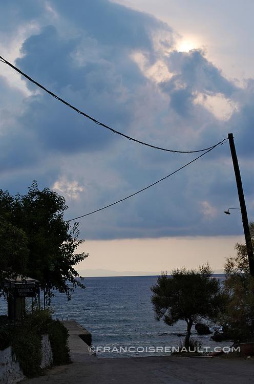 Grece, Peloponese, Kardamyli, Magne