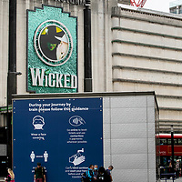 Wicked at the Apollo Victoria;<br />