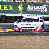 United Autosports with Michael Shank Racing competing in the Rolex 24 at Daytona 2011