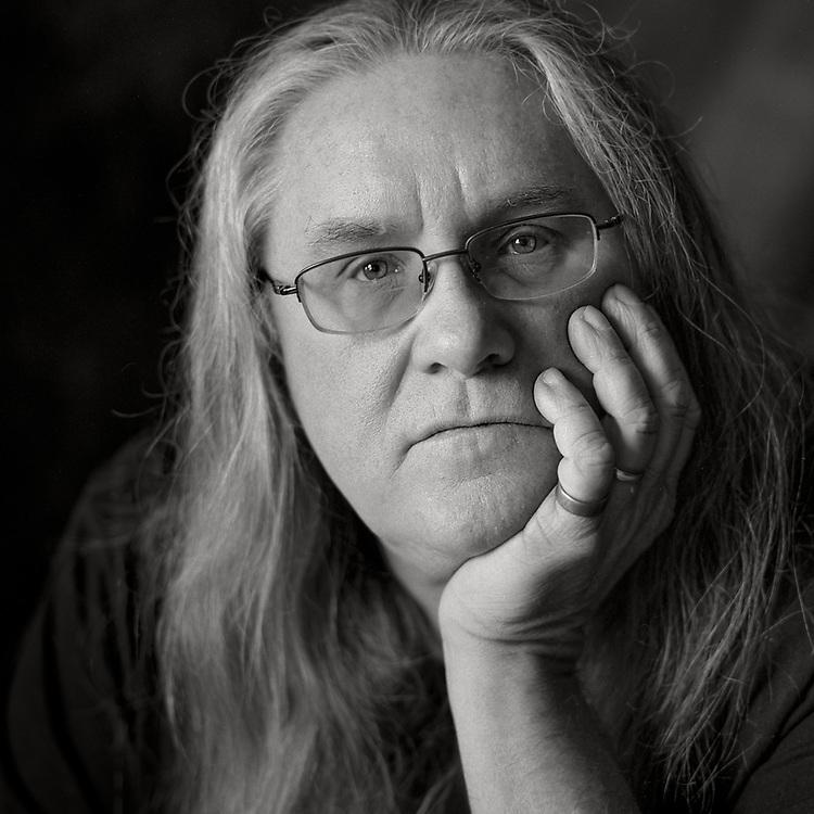 Portrait of author Patrick Dobson by Kansas City photographer Kirk Decker.