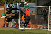 Coventry City goalkeeper Lee Burge warming up during the Sky Bet League 1 match between Burton Albion and Coventry City at the Pirelli Stadium, Burton upon Trent, England on 6 September 2015. Photo by Simon Davies.