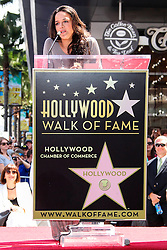26.08.2013, Hollywood, USA, Vin Diesel erhält Stern Nummer 2504 auf dem weltberühmten Walk of fame, im Bild Actress Michelle Rodriguez // during the ceremony honoring him with a star on The Hollywood Walk of Fame held in Hollywood, United States of Amerika on 2013/08/26. EXPA Pictures © 2013, PhotoCredit: EXPA/ Newspix/ MediaPunch Inc<br /> <br /> ***** ATTENTION - for AUT, SLO, CRO, SRB, BIH, TUR, SUI and SWE only *****