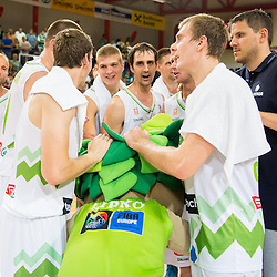 20130726: SLO, Basketball - EuroBasket 2013 warm-up match, Slovenia vs Ukraine