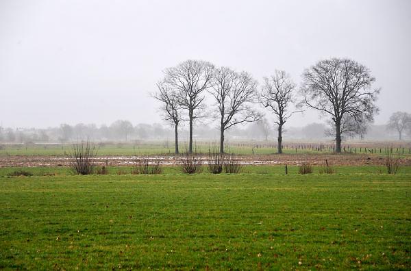 Nederland, Apeldoorn, 20-1-2012Het grondbedrijf van de gemeente Apeldoorn heeft tientallen hectaren grond ten zuidwesten van hetknooppunt Beekbergen, het RegionaalBedrijventerrein ApeldoornZuid zonder dat die in de nabije toekomst gebruikt zullen worden. Vanwege de financiele crisis hebben veel gemeenten te veel grond aangekocht en lijden daardoor een grote strop.Foto: Flip Franssen/Hollandse Hoogte