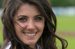 Katie Melua. Queens Cup Polo, Guards Polo Club, June 16, 2012. i-Images. Photo by i-Images.