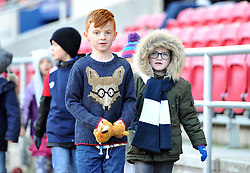 Half-time parade at Ashton Gate Stadium - Mandatory by-line: Paul Knight/JMP - 22/10/2017 - RUGBY - Ashton Gate Stadium - Bristol, England - Bristol Rugby v Doncaster Knights - B&I Cup
