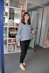 TANIA FARES at a party to celebrate the launch of Bentley's The Collection held at 6 Square Rigger Row, Plantation Wharf, York Road, London SW11 on 25th June 2012.