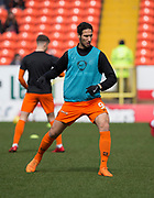 14th April 2018, Tannadice Park, Dundee, Scotland; Scottish Championship football, Dundee United versus Falkirk; Bilel Mohsni of Dundee United