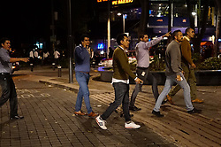 September 8, 2017 - Mexico City, Mexico - People take to the street after a powerful earthquake measuring 8.0 on the Richter scale struck off Mexico's southern coast on late Thursday. (Credit Image: © David De La Paz/Xinhua via ZUMA Wire)