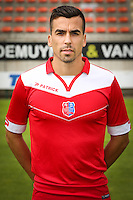 Noe Dusenne pictured during the 2015-2016 season photo shoot of Belgian first league soccer team Royal Mouscron Peruwelz, Thursday 16 July 2015 in Mouscron.