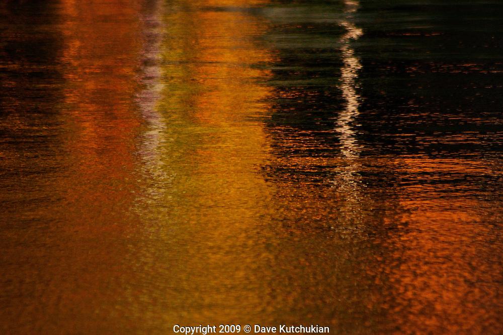 Fall reflections at Peacham Pond, Peacham,VT