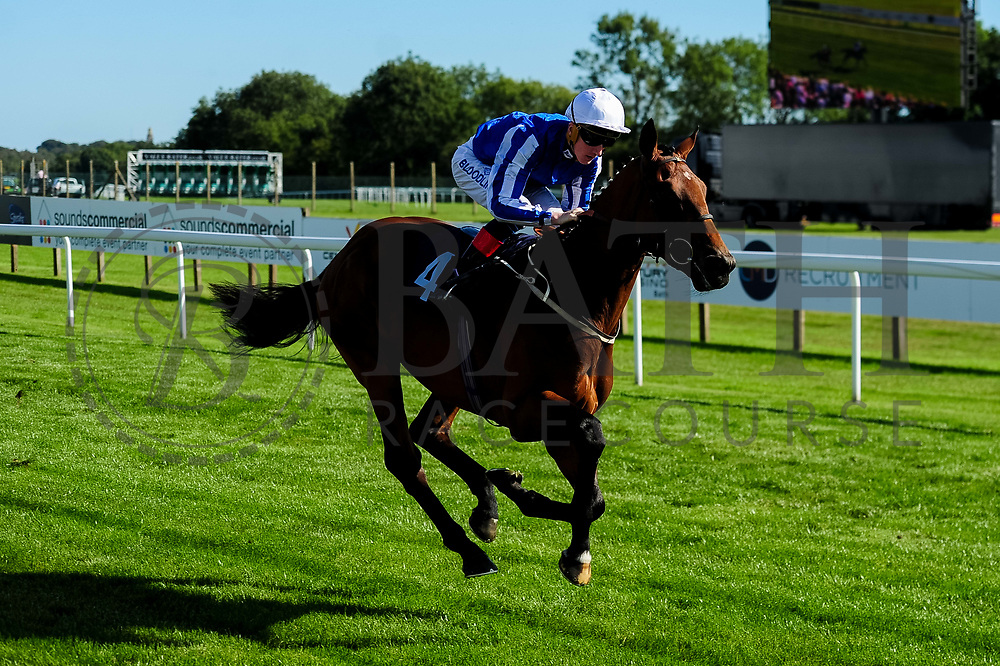 Zabeel Champion ridden by David Egan and trained by Mark Johnston in the Sds/Ebf Novice Auction Stakes (Plus 10 Race) race.  - Ryan Hiscott/JMP - 14/09/2019 - PR - Bath Racecourse - Bath, England - Race Meeting at Bath Racecourse