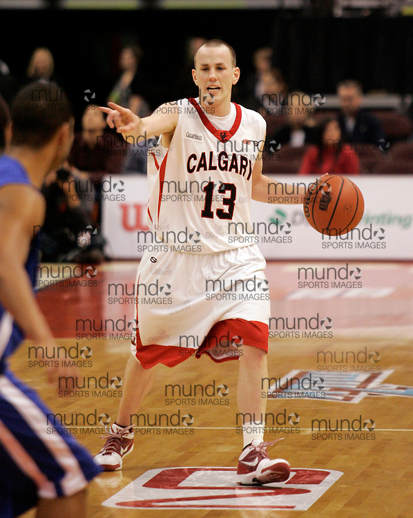 CIS Basketball Champioships-Ottawa, March 20, 2010, Calgary Dinos