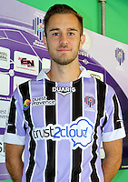 Benjamin MAS - 17.09.2013 - Photo Officielle Istres - Ligue 2<br /> Photo : Icon Sport