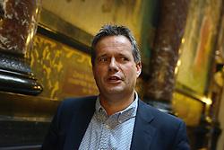12-11-2014 BEL: Loting EK volleybal 2015 vrouwen, Antwerpen<br /> In het Antwerpse stadhuis werd door de Nederlandse-, Belgische volleybalbond en de CEV de loting voor het EK vrouwen verricht / Gido Vermeulen