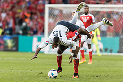 19.06.2016, Stade Pierre Mauroy, Lille, FRA, UEFA Euro, Frankreich, Schweiz vs Frankreich, Gruppe A, im Bild Breel Embolo (SUI), Paul Pogba (FRA) // Breel Embolo (SUI), Paul Pogba (FRA) during Group A match between Switzerland and France of the UEFA EURO 2016 France at the Stade Pierre Mauroy in Lille, France on 2016/06/19. EXPA Pictures © 2016, PhotoCredit: EXPA/ JFK