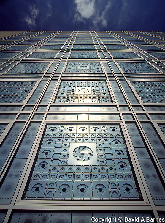 Institut du Monde Arabe, Paris, France.(Institute of the Arab World)