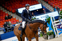 Mändli Beat, SUI, Dsarie<br /> Training<br /> Longines FEI World Cup Finals Jumping Gothenburg 2019