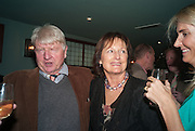 STANLEY JOHNSON; RACHEL BILLINGTON, Party to celebrate the publication of 'Winter Games' by Rachel Johnson. the Draft House, Tower Bridge. London. 1 November 2012.