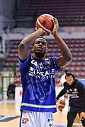 Dwight Coleby<br /> Banco di Sardegna Dinamo Sassari - Dolomiti Energia Trentino Trento<br /> LBA Legabasket Serie A 2019-2020<br /> Sassari, 25/01/2020<br /> Foto L.Canu / Ciamillo-Castoria