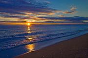 Sunrise on Lake Winnipeg<br /> Winnipeg Beach<br /> Manitoba<br /> Canada