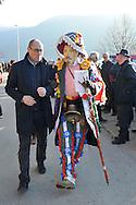 """Il """"Carnevale Tradizionale di Valfloriana"""" - o anche chiamato il """"Carnevale dei Matoci"""" - è uno dei pochi carnevali arcaici rimasti nell'Arco Alpino.Il """"Carnevale dei Matoci"""" percorre tutte le piccole frazioni del paese di Valfloriana riproponendo l'antica usanza dei """"cortei nuziali"""" , 18 febbraio 2012 © foto Daniele Mosna"""