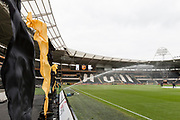 General view of the KCOM stadium during the EFL Sky Bet Championship match between Hull City and Burton Albion at the KCOM Stadium, Kingston upon Hull, England on 12 August 2017. Photo by Richard Holmes.