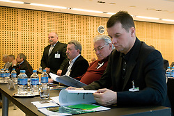 at General Assembly of Slovenian Football Federation NZS due to it's 90-years Anniversary , on April 24, 2010, in Kongresni center Brdo, Brdo pri Kranju, Slovenia. (Photo by Vid Ponikvar / Sportida)