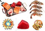 seafood,raw fish,shellfish