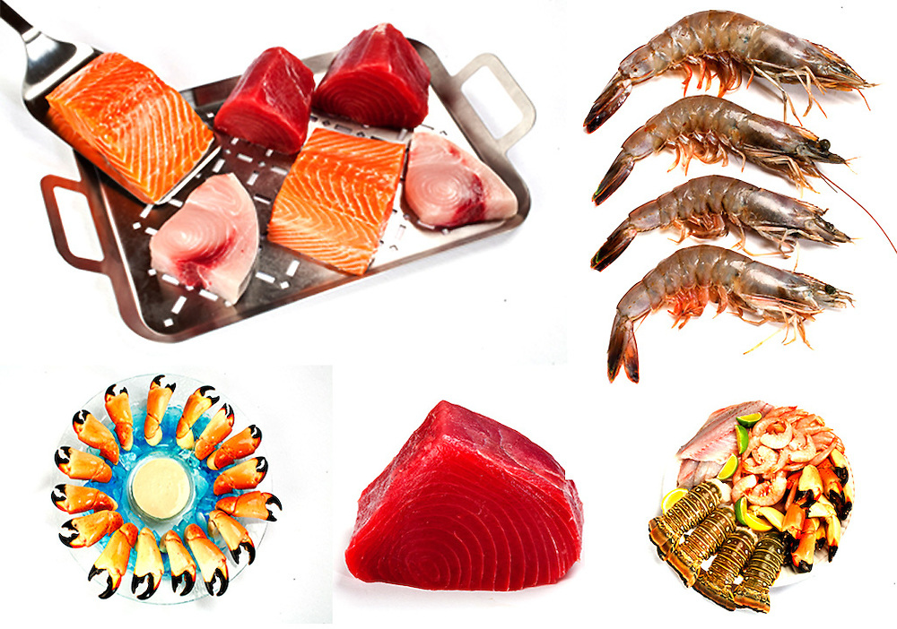 seafood,raw fish,shellfish